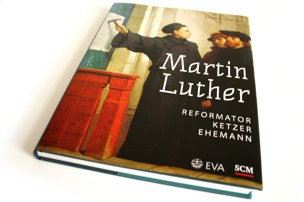 Armin Kohnle: Martin Luther. Reformator Ketzer Ehemann. Foto: Ralf Julke