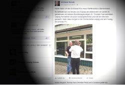 Auf seiner Facebook-Seite erzählt Nowak, was er alles unternimmt. Screenshot: L-IZ
