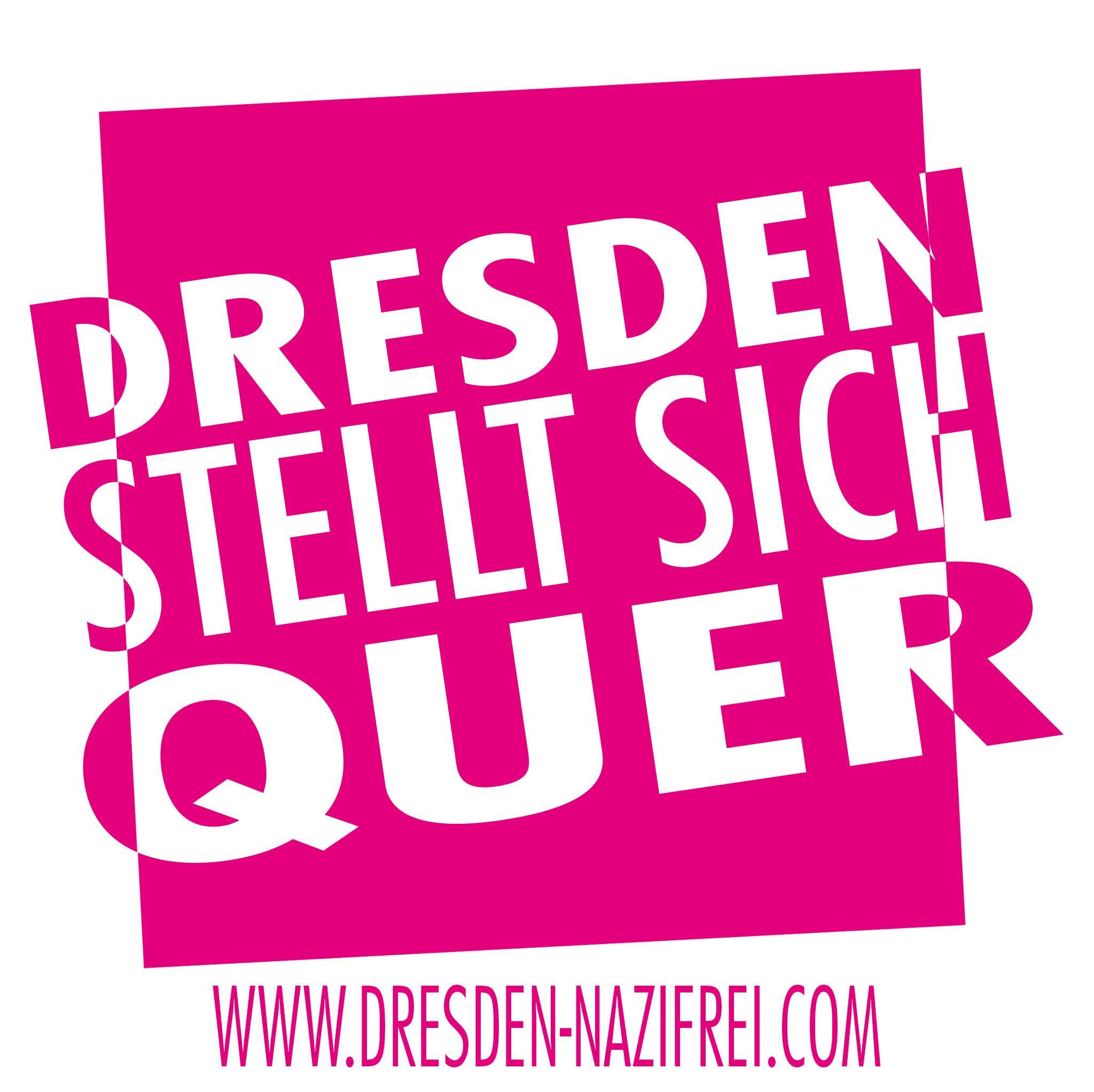 Banner von Dresden Nazifrei. Quelle: Dresden Nazifrei