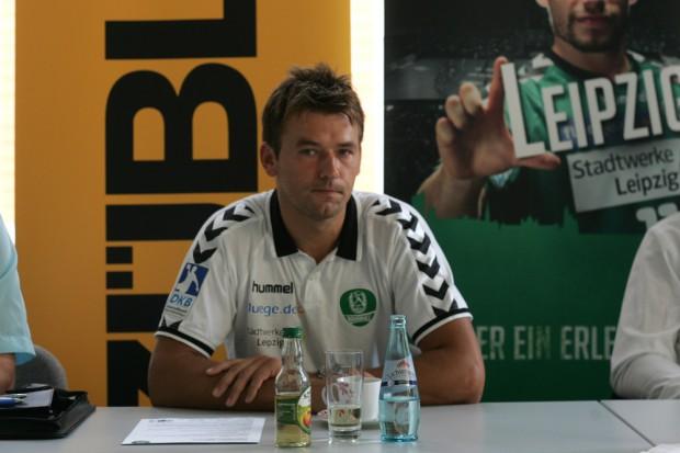 Christian Prokop beim Pressegespräch Foto: Sebastian Beyer