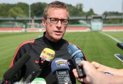 Sportdirektor und Cheftrainer Ralf Rangnick. Foto: GEPA Pictures