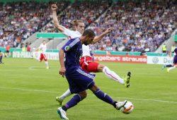 DFB-Pokal: Beim Erstrunden-Duell in Osnabrück ging es hitzig zur Sache. Foto: RB Leipzig