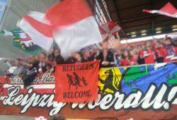 Nicht auf einer Linie mit Mateschitz: Fans von RB Leipzig. Foto: Red Aces