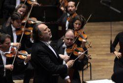 Riccardo Chailly im Gewandhaus. Foto: Alexander Böhm