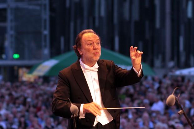 Riccardo Chailly beim Klassik airleben. Foto: Alexander Böhm
