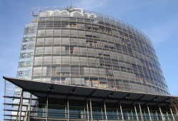 MDR-Senderzentrale in Leipzig. Foto: Matthias Weidemann