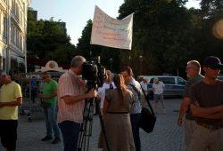 Freie Berichterstattung ala Pegida in Leipzig. Foto: L-IZ.de