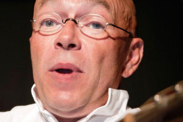 Theaterdirektor des Kabarett SanftWut Ingolf Serwuschok. Foto: Andy Koll