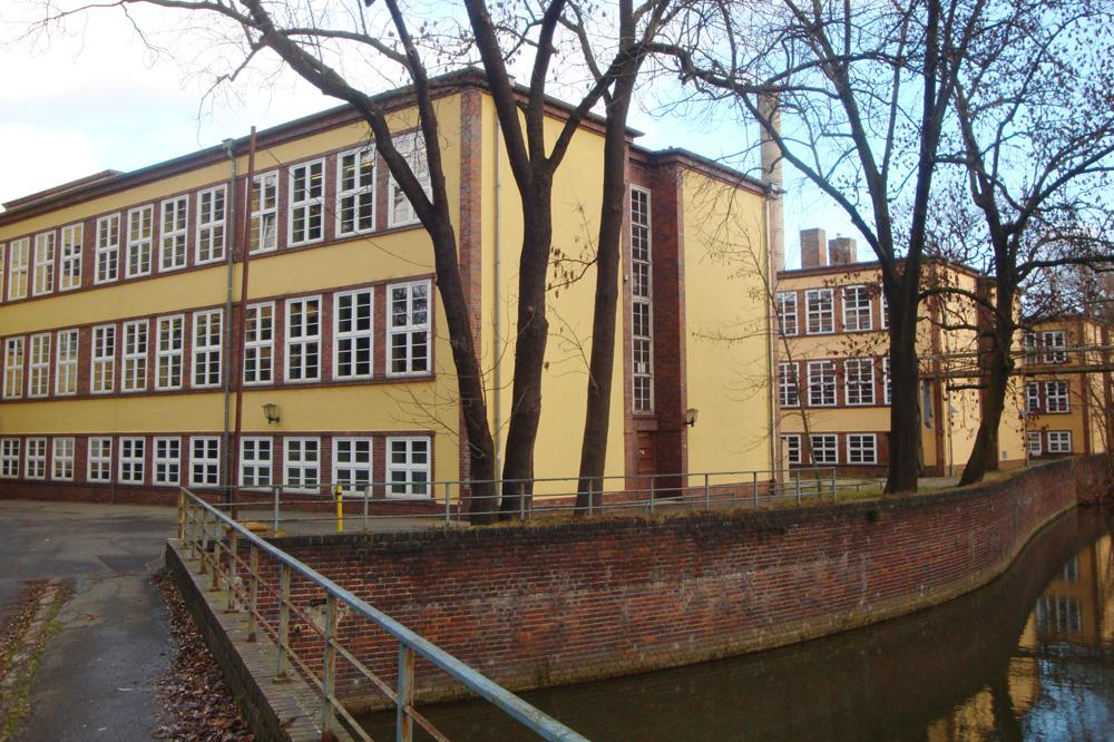 Die einstige Max-Klinger-Schule in der Karl-Heine-Straße 22 b. Foto: Gernot Borriss