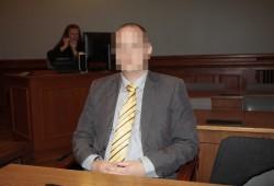 Sebastian T. beim Prozessauftakt am 20. August. Foto: Martin Schöler