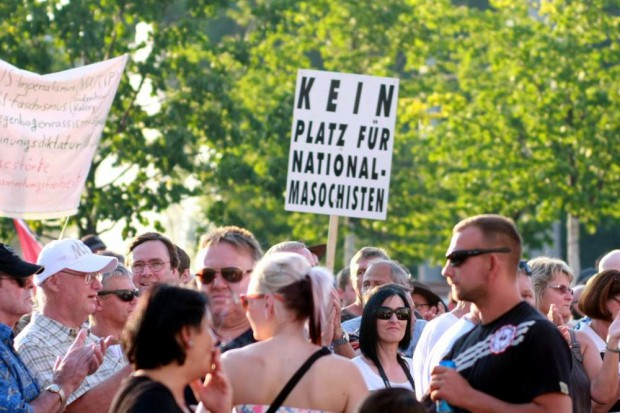 National -Masochismus? Wir wollen ja nun wirklich niemandem etwas unterstellen, aber ... Foto: L-IZ.de