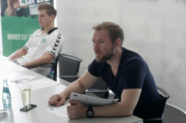SG LVB-Geschäftsführer Tommi Sillanpää hofft auf eine Sensation Foto: Sebastian Beyer
