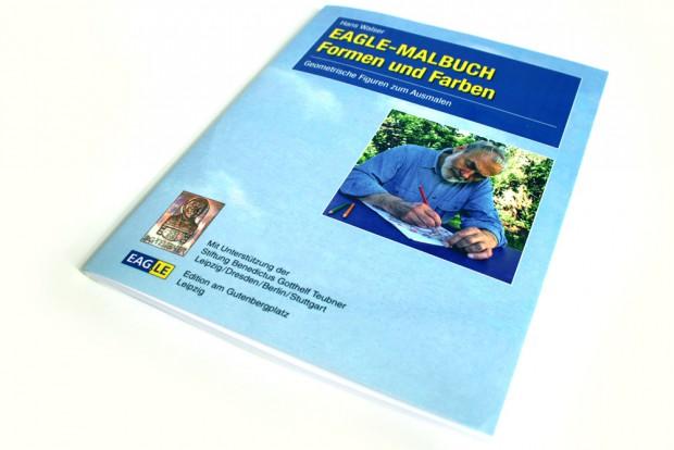 Hans Walser: EAGLE-Malbuch. Formen und Farben. Foto: Ralf Julke