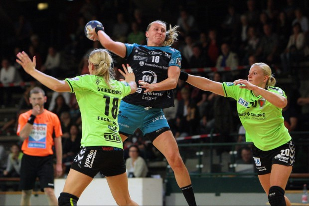Saskia Lang kann nach langer Verletzung endlich wieder von Saisonbeginn an angreifen. Foto: Sebastian Brauner