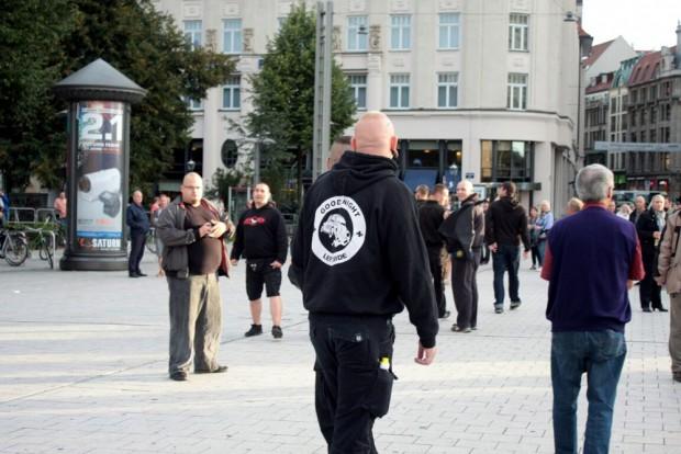 18:30 Es gibt keine Nazis bei Legida ... Foto: L-IZ.de