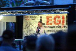 19:30 Uhr: Ed hats wieder mit Ausländern, Flüchtlingen und den Muslimen. Foto: L-IZ.de