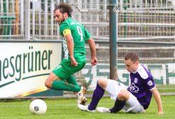 Chemie-Kapitän Andy Müller führte sein Team mit zwei Treffern auf die Siegerstraße. Foto: Jan Kaefer