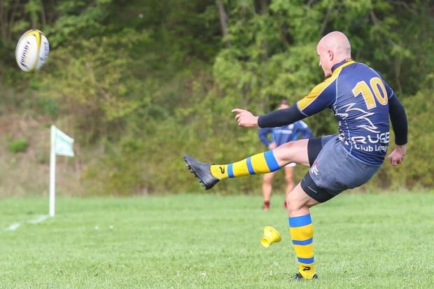 Mit seinen Erhöhungs-Kicks hatte Sven Spangenberg diesmal kein Glück und ging komplett leer aus. Foto: Jan Kaefer