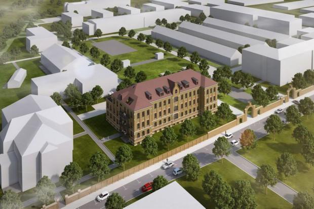 Überblick über das Gelände der Albert-Residenz an der Olbrichtstraße. Grafik:  K & P Firmengruppe