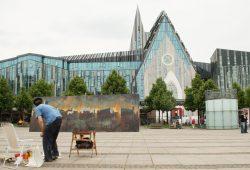 Malerisches Leipzig: Doch nur was für junge Leute? Foto: Ralf Julke