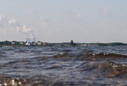 Warum nicht auch noch zehn Hausboote auf dem Cospudener See? Foto: Ralf Julke