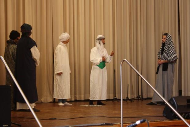 Christlich-muslimische Erstbegegnung in Abessinien. Foto: Ernst-Ulrich Kneitschel