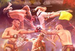 """Die Organisatoren bewerben die """"Imperium Fight Championship"""" mit martialischen Bildern. Foto: Screenshot"""