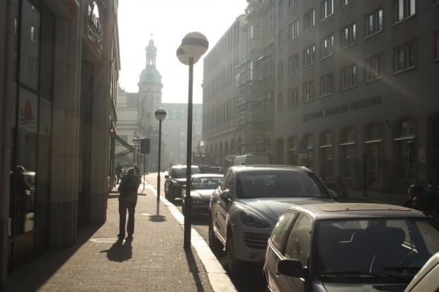 Auch die Katharinenstraße wird bis heute von Autos dominiert. Foto: Ralf Julke