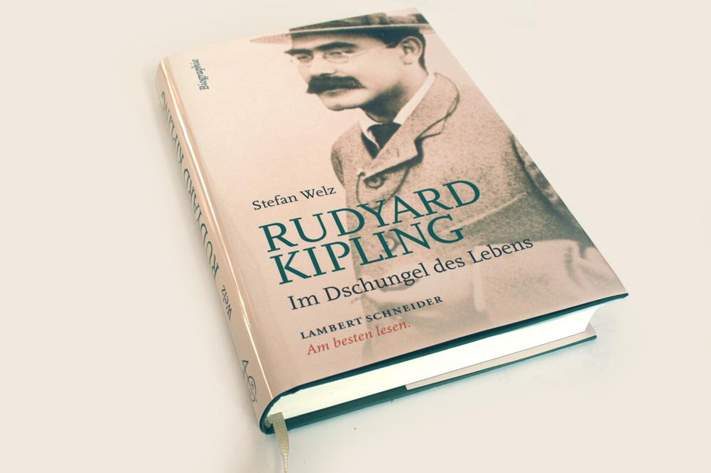 Stefan Welz: Rudyard Kipling. Foto: Ralf Julke
