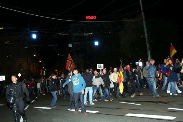 Legida und die Presse - es wird keine Liebe mehr. Foto: L-IZ.de