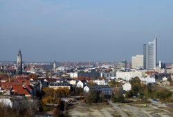 Leipziger Stadtkulisse von Süden aus gesehen. Foto: Matthias Weidemann