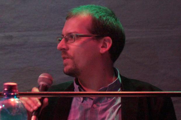 Mitglied der Rechtsextremismuskommission des Bundesvorstands der Grünen Miro Jennerjahn. Foto: Alexander Böhm