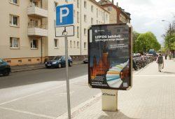 Plakatwerbung für das Förderprogramm 2014 im Leipziger Stadtraum. Foto: Ralf Julke