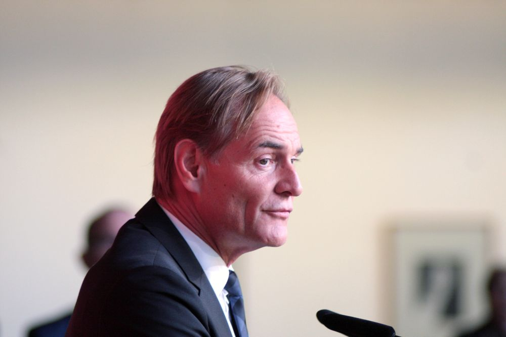Oberbürgermeister Burkhard Jung. Foto: Alexander Böhm