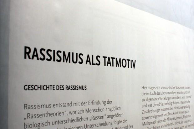Rassismus als Tatmotiv. Foto: Alexander Böhm