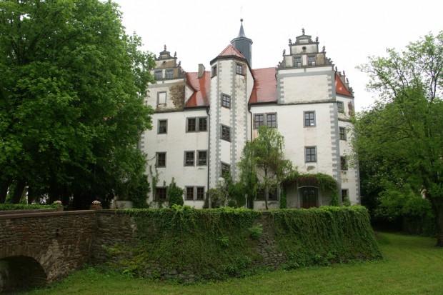 Schloss Podelwitz im Neo-Renaissance-Stil. Foto: Karsten Pietsch