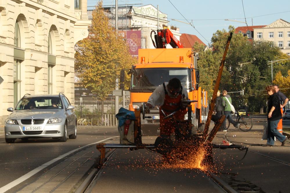 Eine wachsende Stadt macht Arbeit - und schafft auch welche. Foto: Ralf Julke