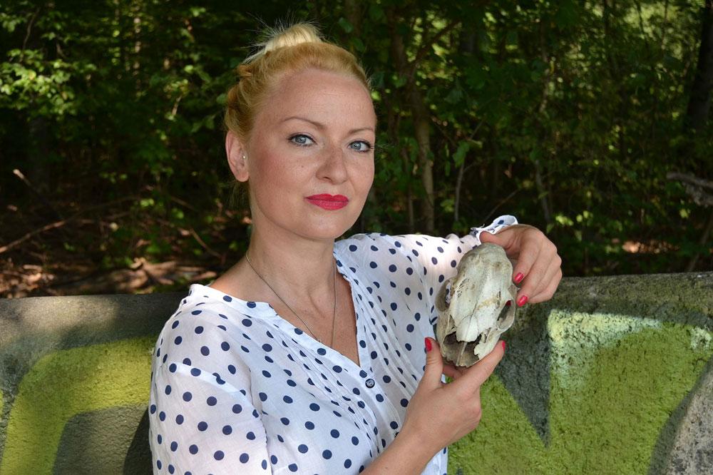 Allround-Künstlerin Susanne Zaspel. Foto: privat