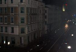 Waldstraßenviertel an der Jahnalle gegen 23 Uhr. Foto: L-IZ.de