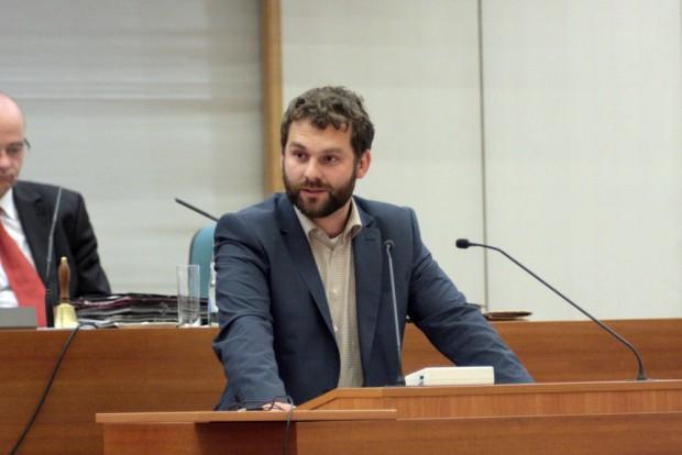 Christopher Zenker (SPD) . Foto: Alexander Böhm