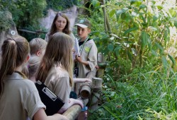 Zoo Kids unterwegs im Zoo Leipzig. Foto: Zoo Leipzig