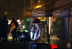Anne Zimmermann wie immer mit Hut. Foto: L-IZ.de