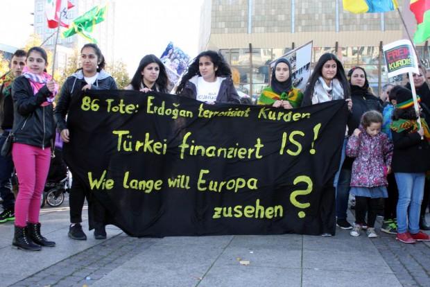 Beweise für die Finanzierung des IS durch die Türkei gibt es nicht. Foto: Alexander Böhm