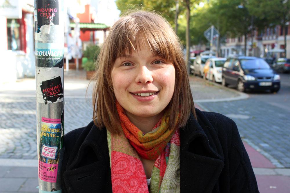 Co-Chefin des Ubiquity-Theatre Leipzig Claudia Jessat. Foto: Volly Tanner
