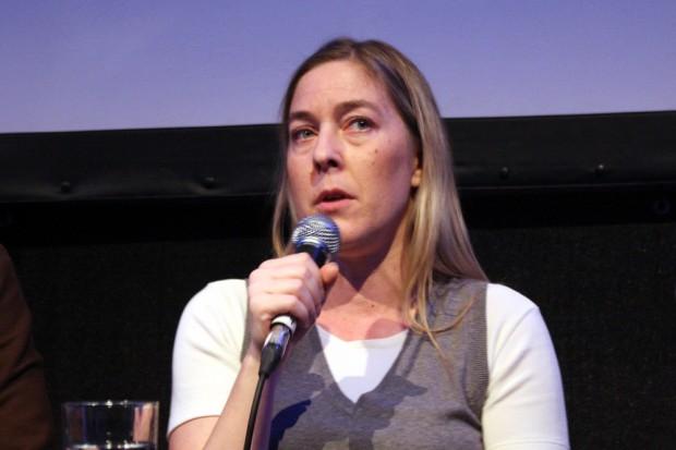 Constanze Kurz, Sprecherin der Chaos Computer Clubs (CCC). Foto: Alexander Böhm