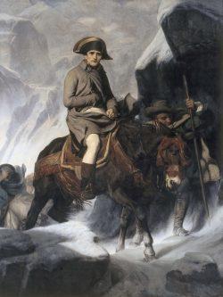 Paul Delaroche: Bonaparte überquert den St.-Bernhard-Pass im Jahr 1800 (1850). Foto: Walker Art Gallery, Liverpool