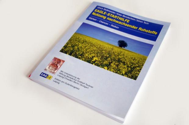 Ulrich Stottmeister, Anke Mondschein, Sören Tech: EAGLE-Starthilfe. Nutzung nachwachsender Rohstoffe. Foto: Ralf Julke