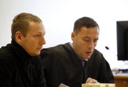 Enrico Böhm im Landgericht. Foto: Alexander Böhm