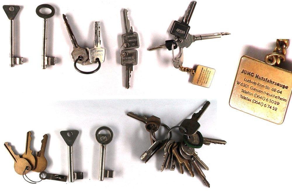Wem gehören diese Schlüssel? Foto: PD Leipzig