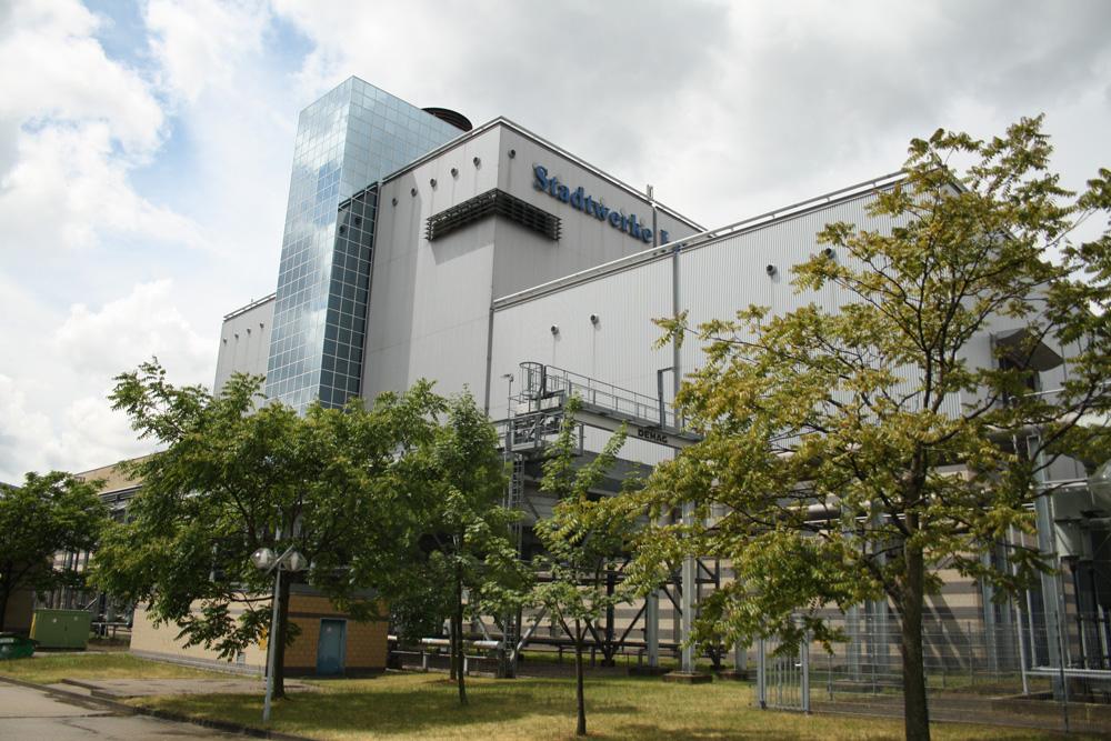 Das GuD-Kraftwerk der Stadtwerke Leipzig in der Eutritzscher Straße. Foto: Ralf Julke
